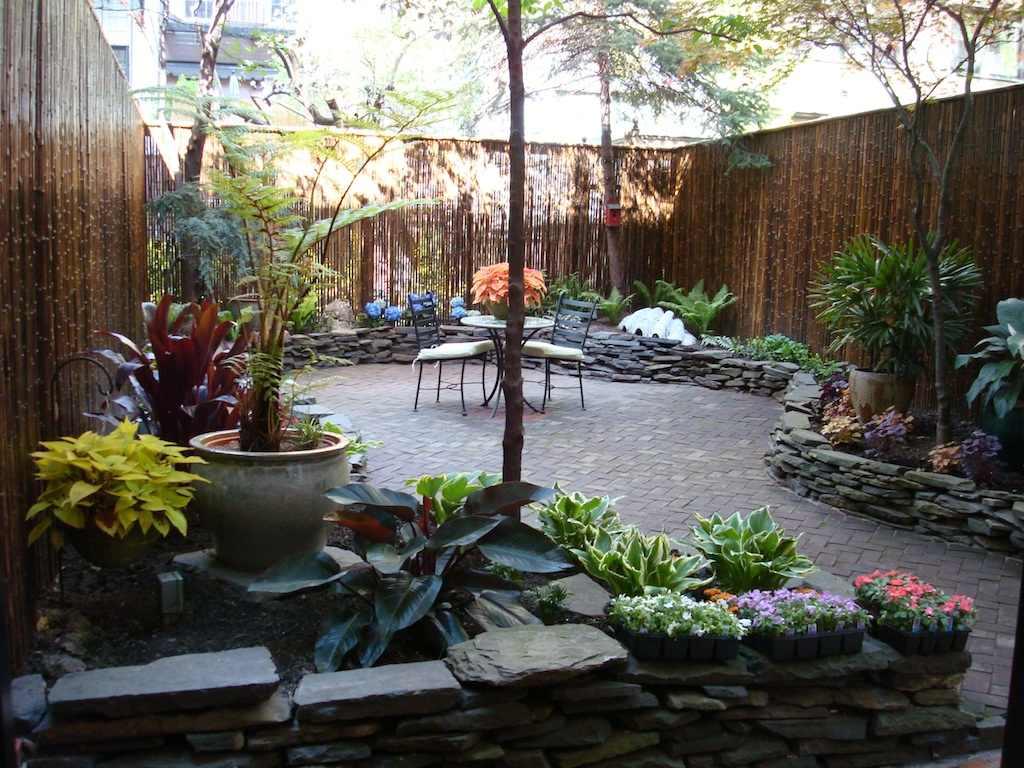 a sampling of garden installations